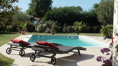 Photo for Large villa ideal for families, heated pool