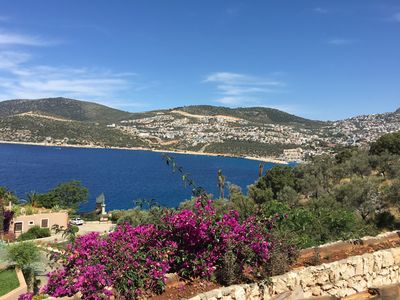Photo for Spacious Apartment with Stunning Views of Kalkan Bay and Harbour