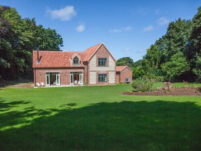 Photo for A stunning house of award-winning design, in a superb, peaceful location