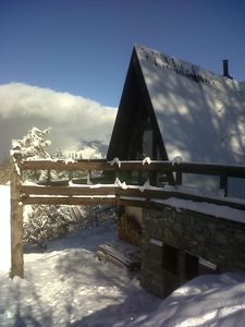 Photo for Chalet 'skis at the foot', Arc 1600, quiet, modern