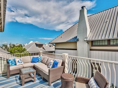 Photo for ☀️The Happy Place☀️4BR-Seacrest Beach- Aug 23 to 26 $1248 Total! Walk2Rosemary