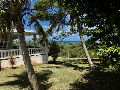 Photo for Seaside cottage with spacious grounds and  ocean view,