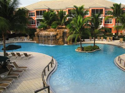Photo for My Tranquill Paradise - View of our resort pool!