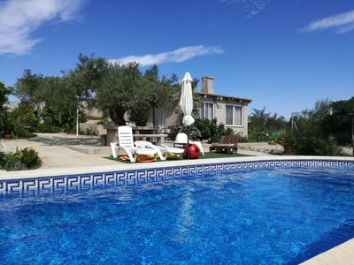 Photo for Finca with private pool & mountain views, dogs welcome.