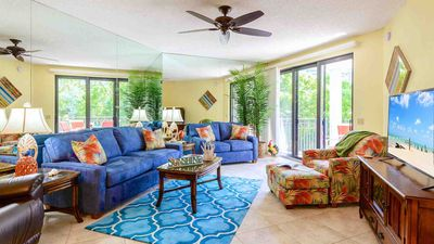 Photo for << CONCH IN THE TREETOPS @ THE BEACH >> Beach Condo / Pool + LAST KEY SERVICES...