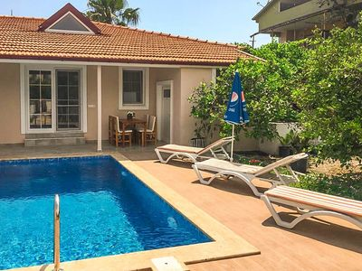 Photo for Villa Duman 2: Private Pool, A/C, WiFi, Car Not Required