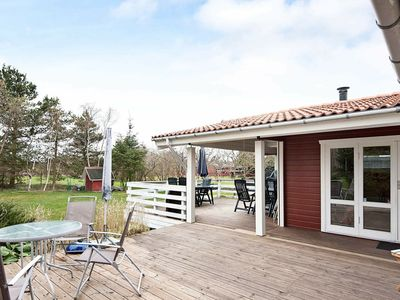 Photo for Beautiful Holiday Home in Glesborg Jutland with Terrace