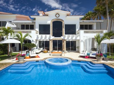 Photo for Beachfront Villa 321 - luxury 4 bedrooms serviced villa - Travel Keys