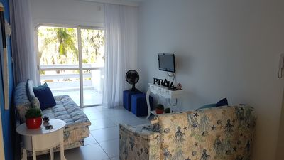 Photo for Apt. comfortable, well located 100mts from Enseada-Guarujá Beach