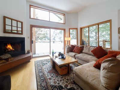 Photo for SPACIOUS + BRIGHT Creekside Family Home: Steps to Gondola, Trails, Restaurants/Bars!