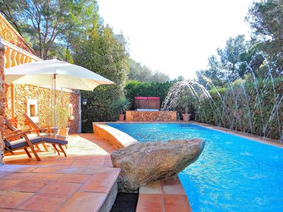 Photo for Can Tomeu Majorcan stone villa with a charming swimming pool 232