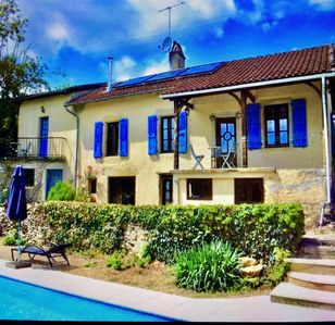 Photo for Traditional French house with private pool and gardens.