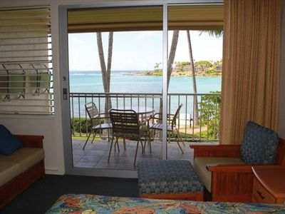 Photo for Spectacular View Napili Shores A205 , ocean front on Napili Bay