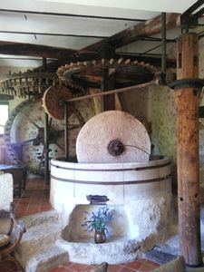 Intact mill workings