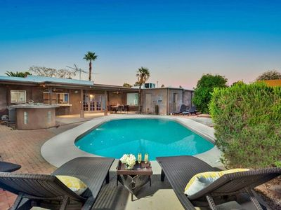 Photo for Scottsdale Retreat- Sparkling Pool, HDTVs, Grill!
