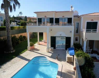 Photo for Beautiful 3-Bedroom villa with private heated pool, spacious garden & sea views