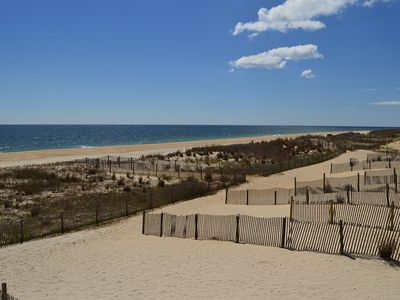 Photo for Oceanfront w/ Outdoor Pool, Grill Area & Steps Leading Down into Sand!