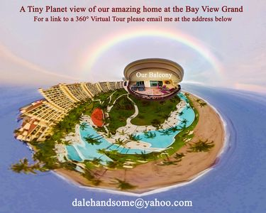 Photo for Beach Front Luxury at the  Bay View Grand - Location! Location! Location!