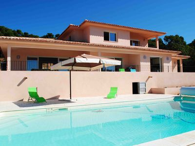 Photo for Porto Vecchio - Luxury villa with private pool and air-conditioned rooms