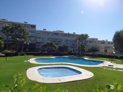 Photo for ALTOS DEL TORIL. Exclusive apartment with private garden, gym, paddle, pool