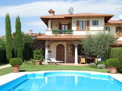 Photo for Luxury Holiday Home in Moniga del Garda with Private Pool