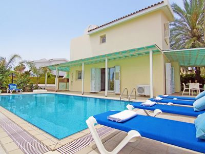 Photo for VILLA AMBER - KALAMIES PERNERA 4 BEDROOM WITH PRIVATE POOL