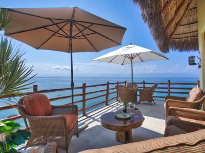 Photo for Exclusive Oceanfront Villa in Pretigious Real Del Mar,  Riviera Nayarite