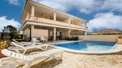 Photo for Modern semi-detached house with pool only 300 meters from the beautiful sandy beach