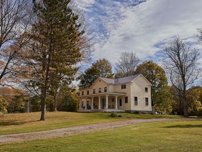 Photo for Restored Germantown Farmhouse:  Live In The Country, Stroll To The Village