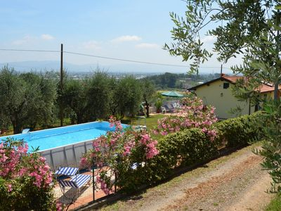 Photo for country house around Montecarlo village with pool, ideal for families