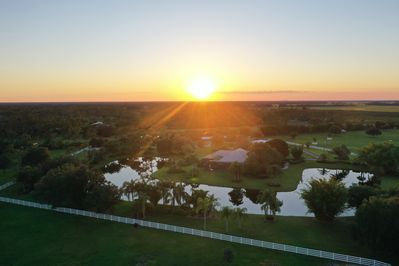 ranch arial view