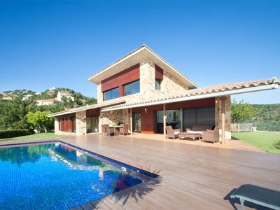 Photo for VILLA WITH PRIVATE POOL AND FANTASTIC MOUNTAIN AND SEA VIEWS