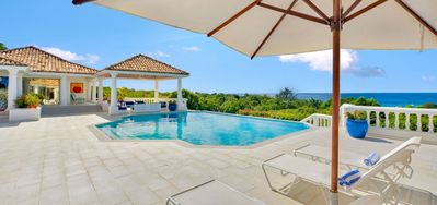 Villa La Bella Casa  -  Ocean View - Located in  Exquisite Terres Basses with Private Pool