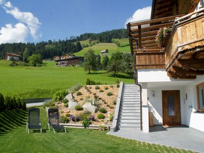 Photo for Mountain Chalet Zillertal - Family holiday on the mountain near the spa