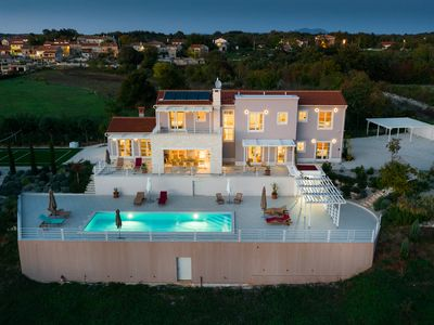 Photo for Design Villa Aqua ***** with 48m² pool, golf court, fitness & spa house