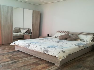 Photo for Room with bathroom and private terrace between Naples and Pompeii