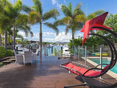 Photo for Large family house  · Cairns Beaches HOME With  Water View &BBQ Sleep 12