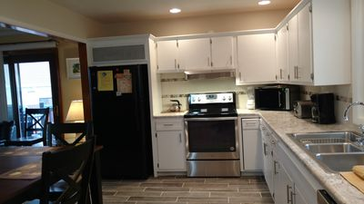 Kitchen-Fully Equipped with full size stove, refrigerator and dishwasher