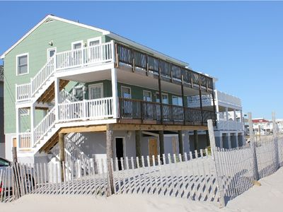 Photo for Oceanfront Rental!!! Best Price!! Upstairs!
