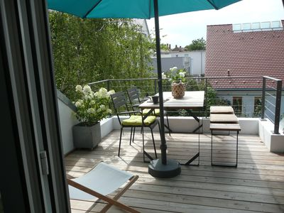 Photo for Spacious duplex apartment with roof terrace in an ideal location