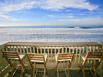 Photo for **New Listing**  AMAZING UPPER BEACHFRONT -FULL PANORAMIC OCEAN VIEWS - D24 - Cottage on the Sand