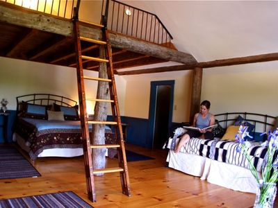 Photo for Vermont Farmstay In Private Barn Guest House