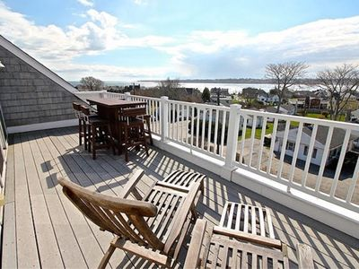 Photo for Luxury Beach House, Easton Point. Ocean Views,  2 Master BRs, Walk to Everything