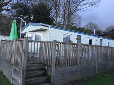 Photo for Caravan In a beautiful Lakeland Location Sleeps up to 7