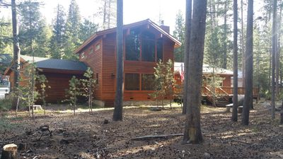 Photo for Luxurious Two Story Cedar Built Home In The High Sierras