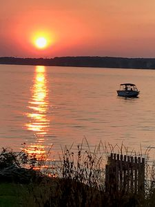 Photo for Great Sunset View Riverfront Cottage- Amazing Sunsets!!