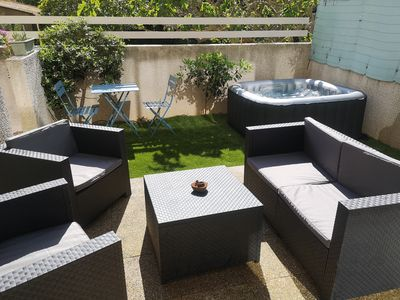 Photo for T2 with garden 50 meters from the beach