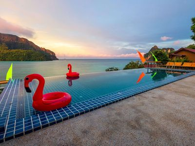Photo for Stunning Bamboo Twin Bungalow on Phi Phi!