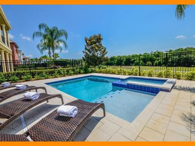 Photo for Reunion Resort 849 - 5 star villa with private pool & game room near Disney