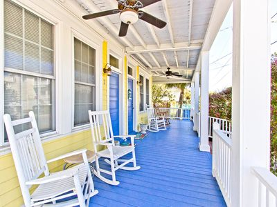 Photo for Large 1 Bedroom Pet Friendly Apartment, Only 1/2 Block to Tybee's South End Beach